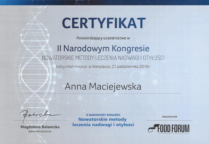 Leczenie nadwagi i otyłości Anna Maciejewska